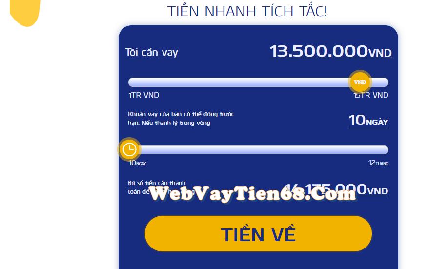 Đăng ký vay tiền online
